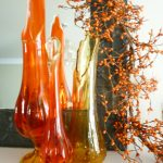 Fall Mantel Using Flea Market Finds