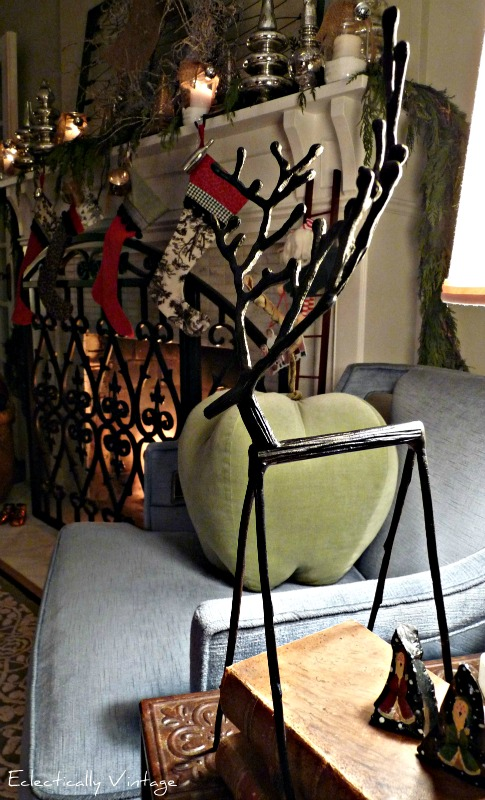 Christmas Reindeer - and Holiday House Tour
