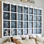Exceptionally Eclectic #1 – Gargantuan Window Turned Chalkboard