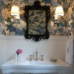 Eclectic Home Tour – Bold Powder Room!