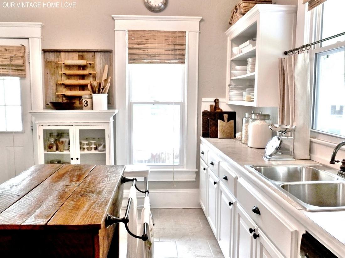 Eclectic House Tour - Farmhouse Kitchen
