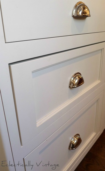Drawer Pulls Bin Vintage Kitchen Pullout Cabinets