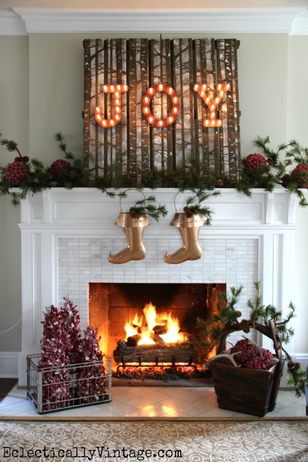 Christmas Home Tour kellyelko.com