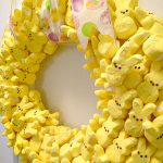 Party with My Peeps Easter Wreath