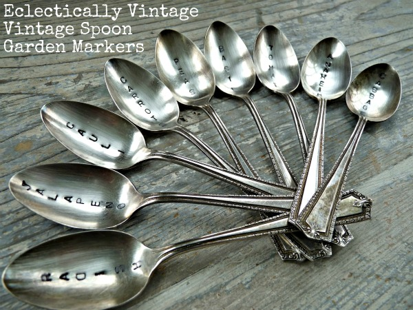 Vintage Stamped Spoons - Make Great Gift kellyelko.com