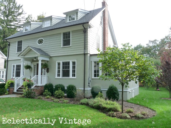 Antique house renovation - you won't believe the before! kellyelko.com