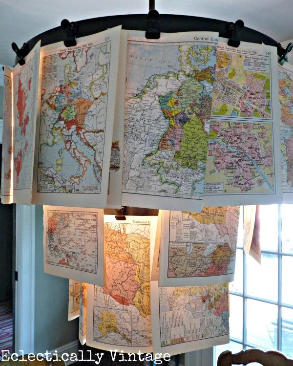 Map chandelier kellyelko.com
