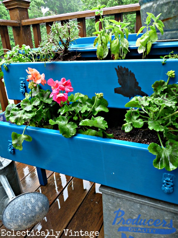 Dresser Planter - create your own for a bit of whimsy!  kellyelko.com