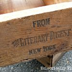 Fab Friday Finds – Rescuing Vintage Wooden Boxes