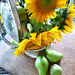 Let the Sunflowers Shine In – Fall Centerpiece