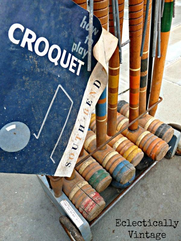 South Bend Croquet Set