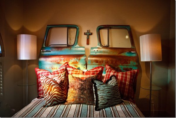 Eclectically Vintage Bedroom Ideas