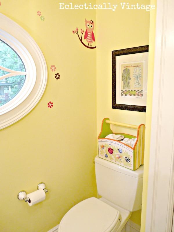 Eclectically Vintage Bathroom