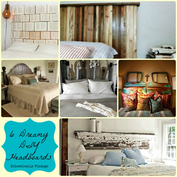 14 Dreamy Diy Headboard Ideas: 6 Dreamy DIY Headboards