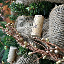 Decorating With A White Christmas Tree Eclectically Vintage