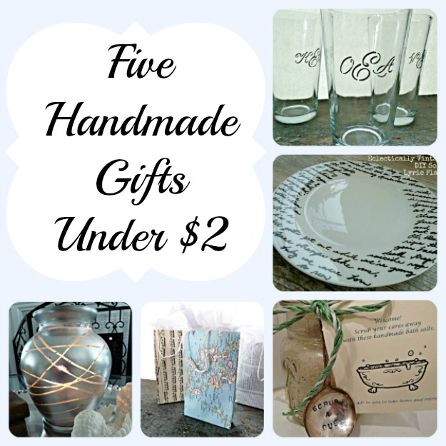 Five quick handmade gift ideas for less than 2 for Quick easy gift ideas
