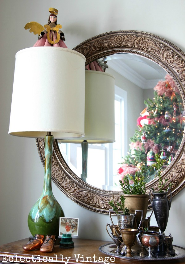 Christmas House Tours - step inside this 100 year old home filled with tons of fabulous decorating ideas!  kellyelko.com