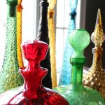 Collectingitis – Colorful Vintage Glass Decanters