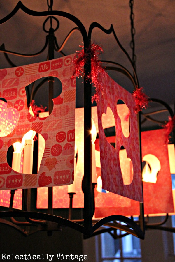 Make these Valentine lantern luminaries kellyelko.com