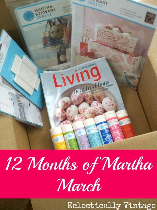 March Martha Stewart Giveaway