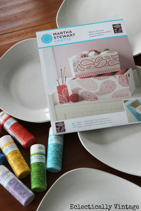 DIY Paisley Plate Wall - just one of the many ways you can customize your own plate wall!  kellyelko.com