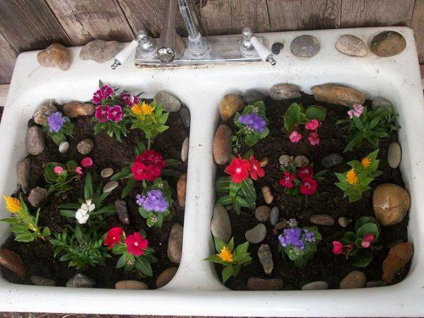 12 Unique Planters - think outside the pot!  kellyelko.com