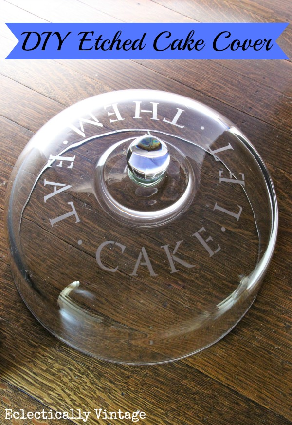 How to etch glass - so simple and great gifts!  kellyelko.com