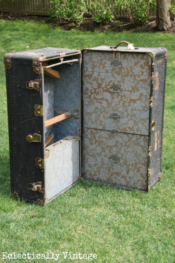 I Scored Vintage Steamer Trunk And The Glory Days Of