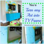 How to Turn any Art into a TV Frame!