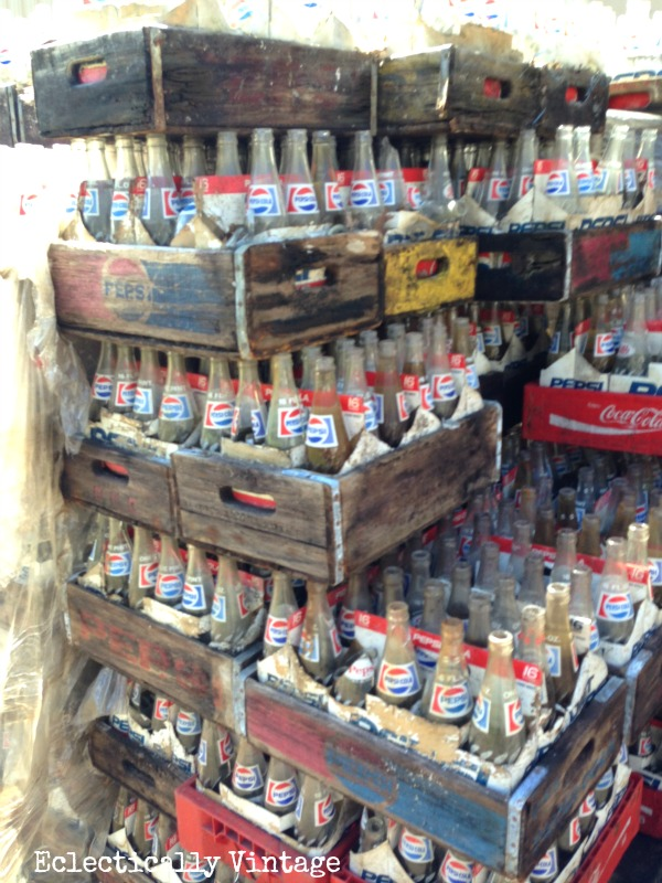 Free Vintage Soda Crates ... and How I Rescued Them From the Ashes - Kelly Elko