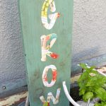 DIY Seed Packet Garden Sign