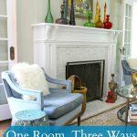 One Room, Three Ways – Living Room Style 1