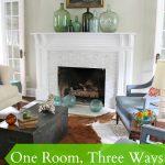 One Room, Three Ways – Living Room Style 2