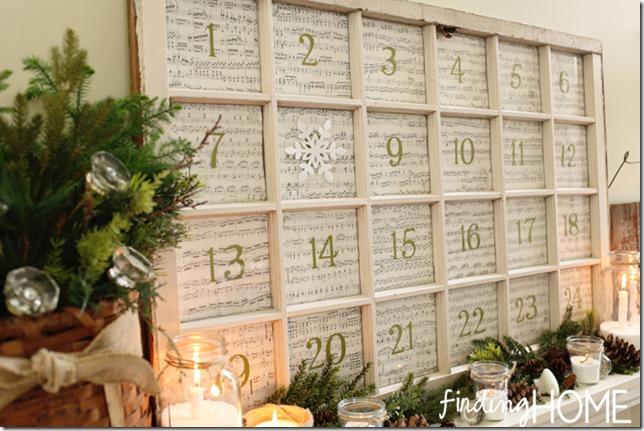 Decorating Ideas > 10 Unique Repurposed Windows ~ 220626_Christmas Decorating Ideas Using Old Windows