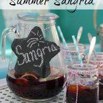 Best Summer Sangria kellyelko.com