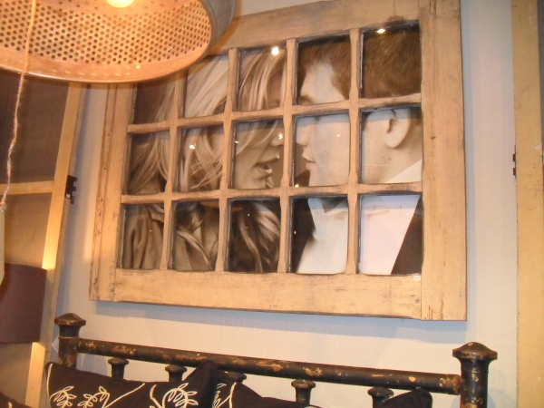 10 unique repurposed windows for Creative ideas for old picture frames