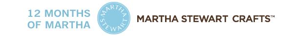 12 Months of Martha - a craft a Month at kellyelko.com