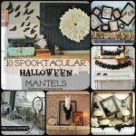 10 Spooktacular Halloween Mantels