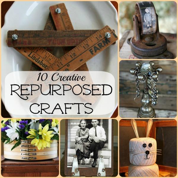 10 creative repurposing ideas for Unique craft items