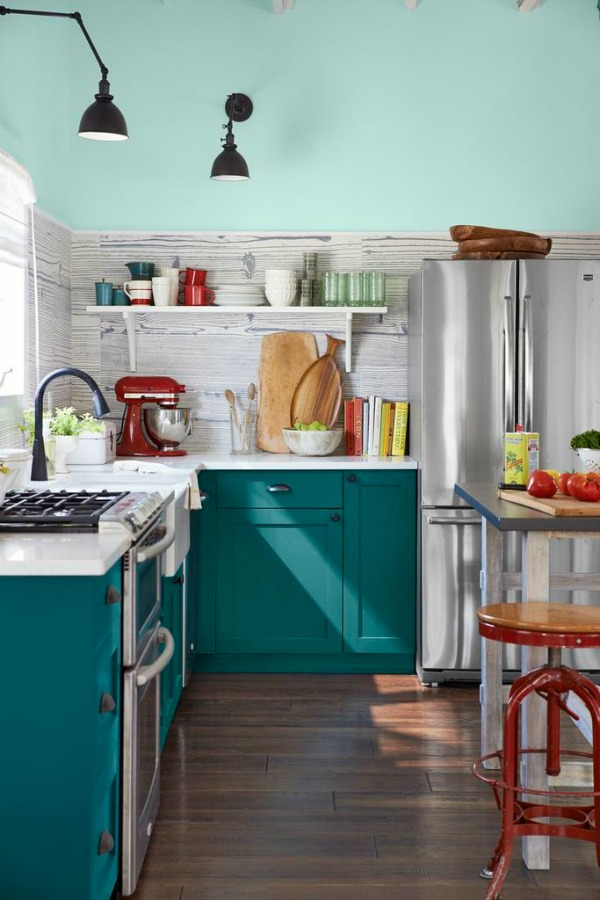 Country Living Magazine House Of Year Colorful Kitchen Designed By