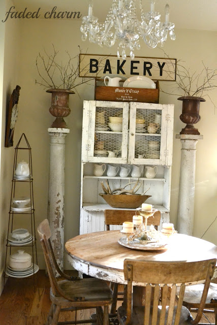 Cottage Decorating Ideas - take the tour of this charming cottage