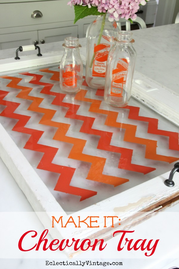 How To Paint Chevron The Easy Way