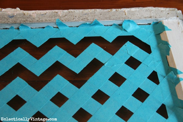 How to paint chevron the easy way for Chevron template for painting