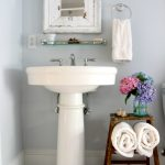 Vintage Step Ladder Bathroom Storage (and be my guest)
