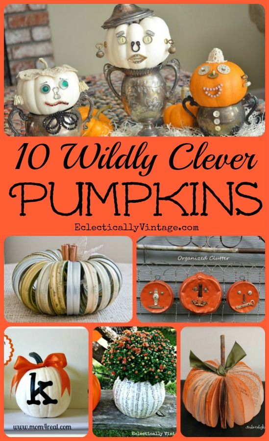 Off the vine pumpkin crafts for Vine craft ideas