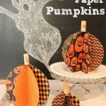Make It:  3D Paper Pumpkin