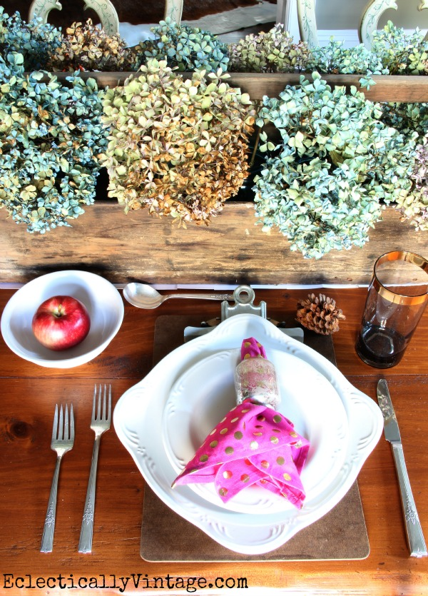 My Fall Table and a Giveaway!