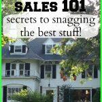 Estate Sale Tips 101 – Secrets to Snagging the Best Stuff!