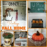 Falling for Vintage Fall Home Tour