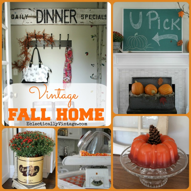 Vintage Home Decorating Ideas: Creative Fall Decorating Ideas